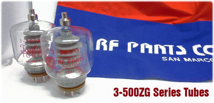 3-500ZG Transmitting Tubes