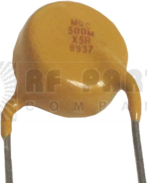0005-10KVHDB   High Voltage Capacitor, .0005uf / 10KV, Radial Lead