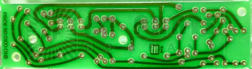 0100-03  Pride P100 / P150 Blank preamp board