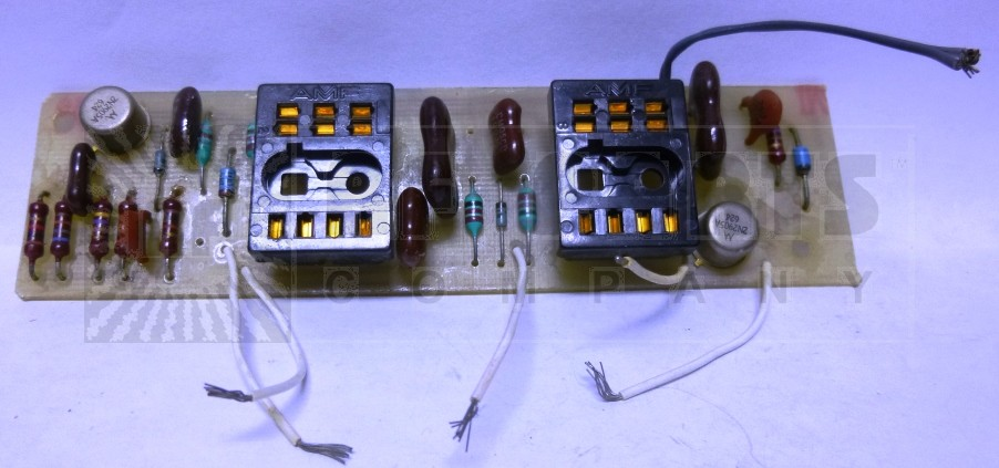 0100-03A  Pride P100/P150 Preamp Assembly (Less Relays), Pride