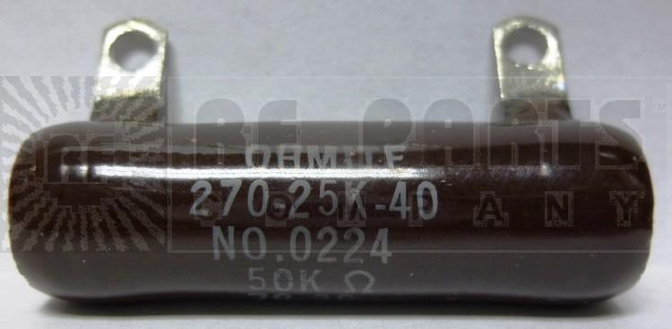0224-50K Resistor, 50k ohms 25 watts