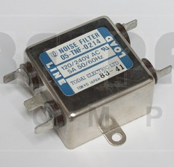 05-TNF-0214  Noise Filter, 5 amp, 120/240v,