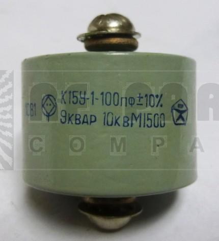 100-10 Doorknob Capacitor 100pf 10kv, Radio Komponent