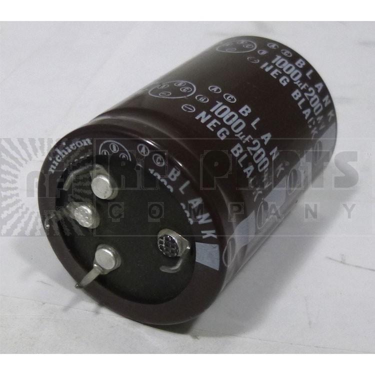1000-200 Capacitor, snap lock, 1000uf 200v