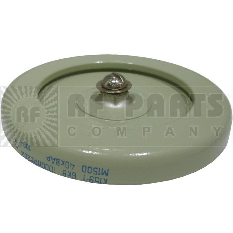 1000-6 Capacitor, Doorknob, 1000pf 6kv, 20%