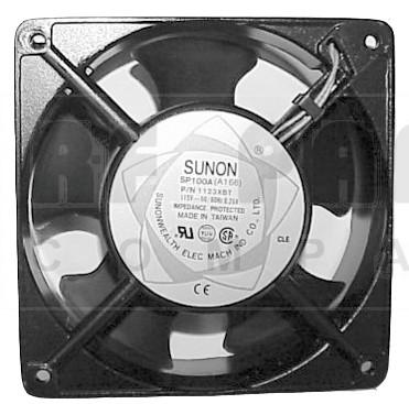 1123XBT; Fan motor, sunon (rohs) 115vac 260 ma term
