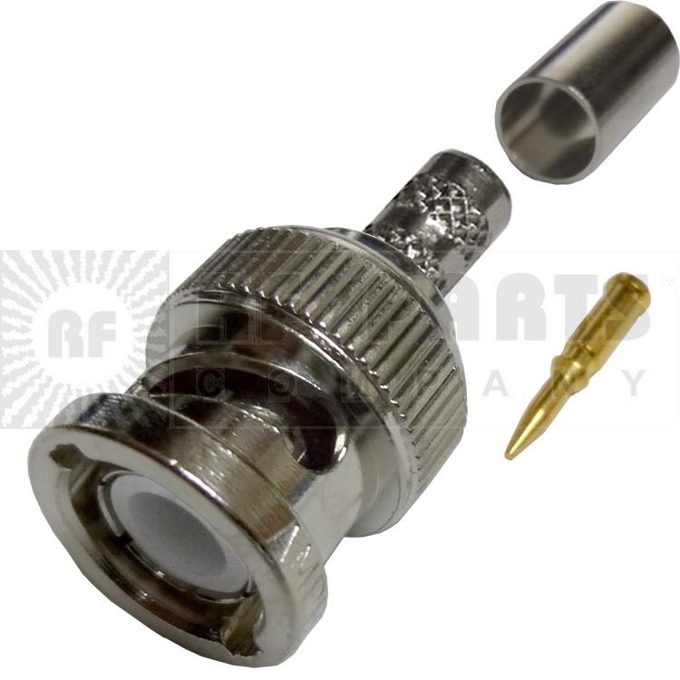112533 - BNC Male Crimp Connector,  Amphenol/Connex