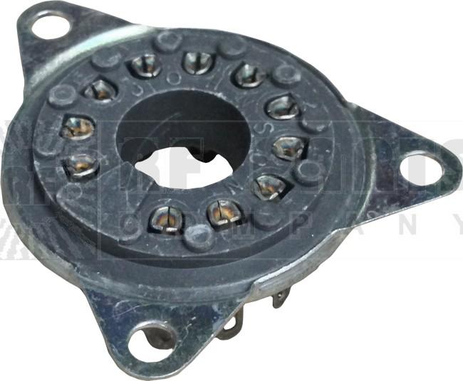 124-0311-100 Tube Socket, Johnson
