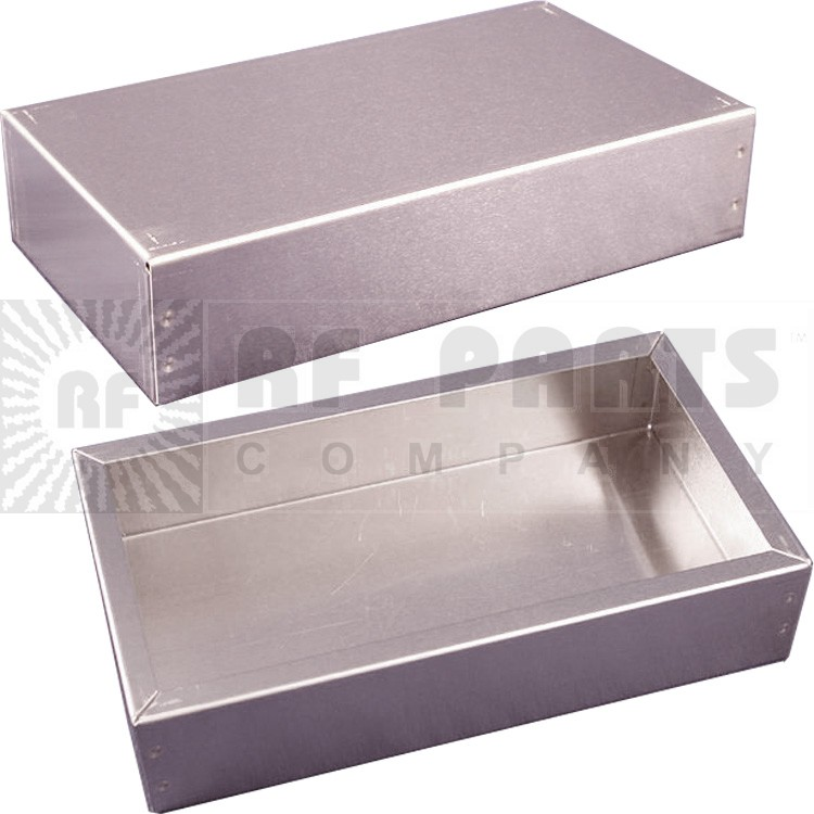 """CHAS1444-8 Chassis, 6""""x4""""x2"""" aluminum"""