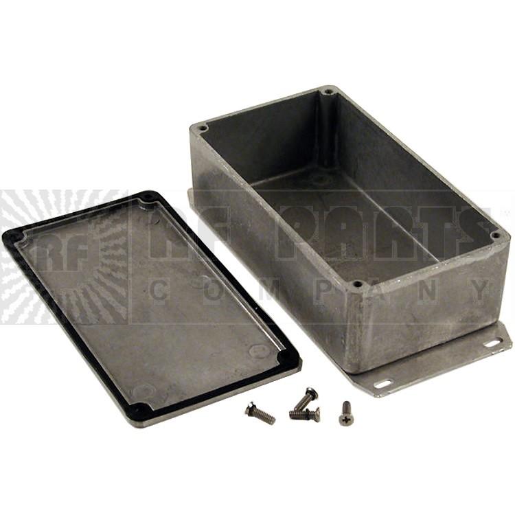 BOX1590WP1F - Diecast box sealed w/ flange