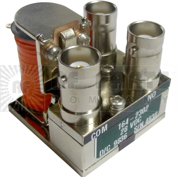 164-2302 Coax Relay, 28V, BNC, Dow Key