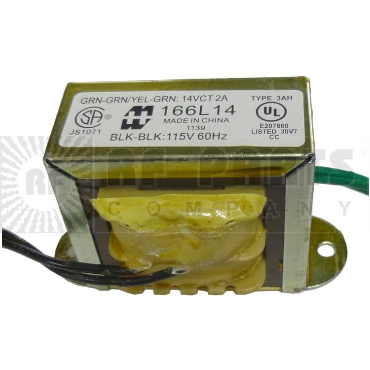 166L14 - Transformer 14vct at 2a