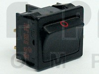 1802 Rocker Switch, DPST, 10a 250vac