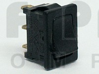 1803  Rocker Switch, SPDT, 10a 125-250vac