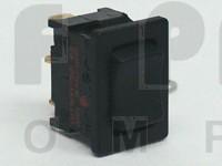 1808  Rocker Switch, SPDT, ON - OFF - ON,  6a 125-250vac