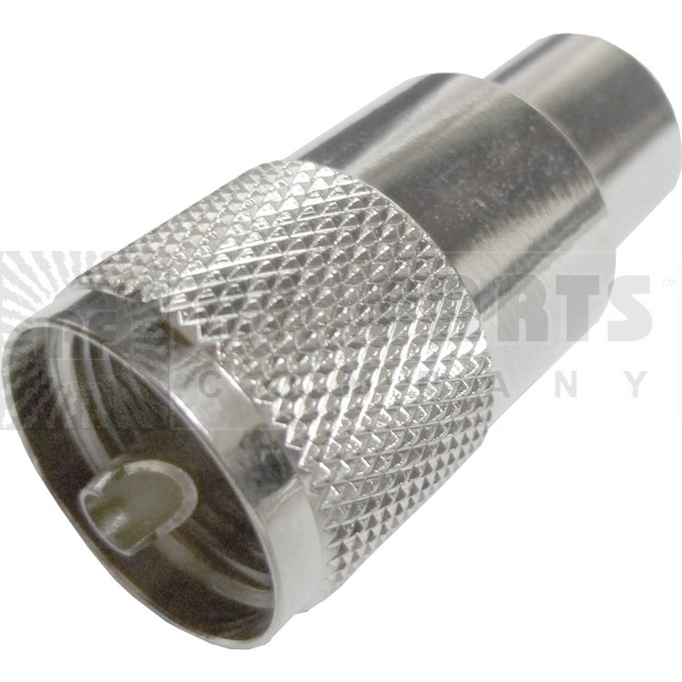 1-83-1SP-15RFX UHF Male Solder Connector (PL259), Amphenol/RF