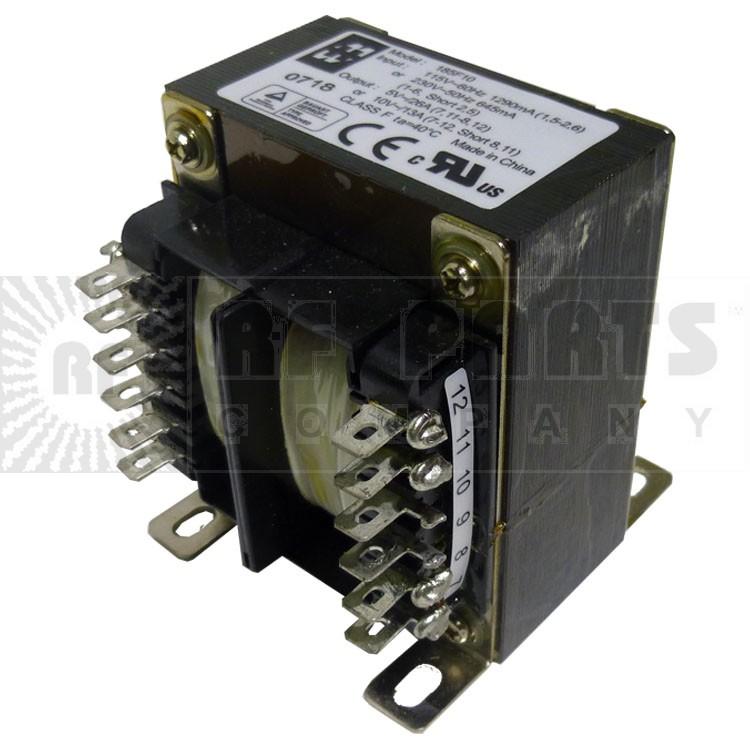 185F10 Transformer, Dual pri 115/230 vac 50-60hzDual sec 10vct@13a/5v@26a