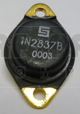 1N2837B  Diode, Zener 50 Watt 91v  TO-3 Case