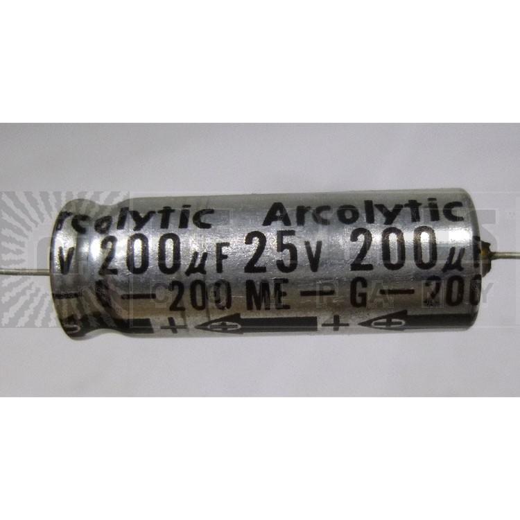 200ME Capacitor, 200 uf 25v