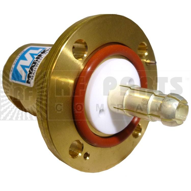 "201-058-1  Between Series Adapter, 1-5/8"" EIA Flange to 7/16 DIN Female, MYAT"