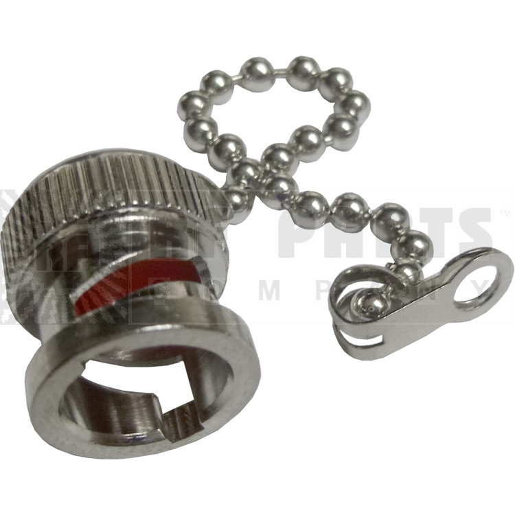 31-6-RFX - BNC Male Cap with Chain, APL/RF