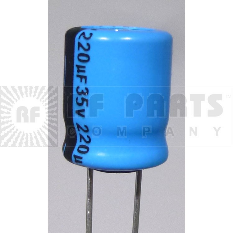 IC220-35 Capacitor, 220 uf 35v, Radial, mfg: IC