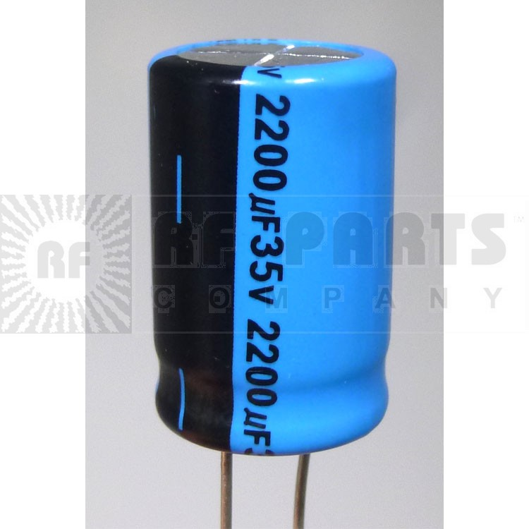 RAD2200-35 Capacitor, radial 2200uf/35v, Towa