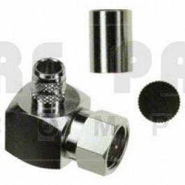 222164 F Male Crimp Connector, Right Angle, Amphenol/Connex