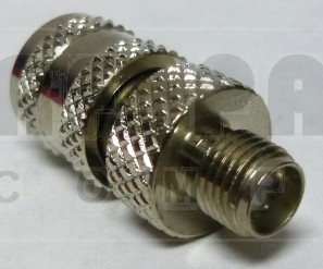 242117 SMA Between-Series Adapter, SMA Female to MINI-UHF Male, APL/CON