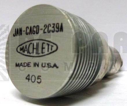 2C39A-MACH  Transmitting Tube, 2C39A , Machlett (NOS)