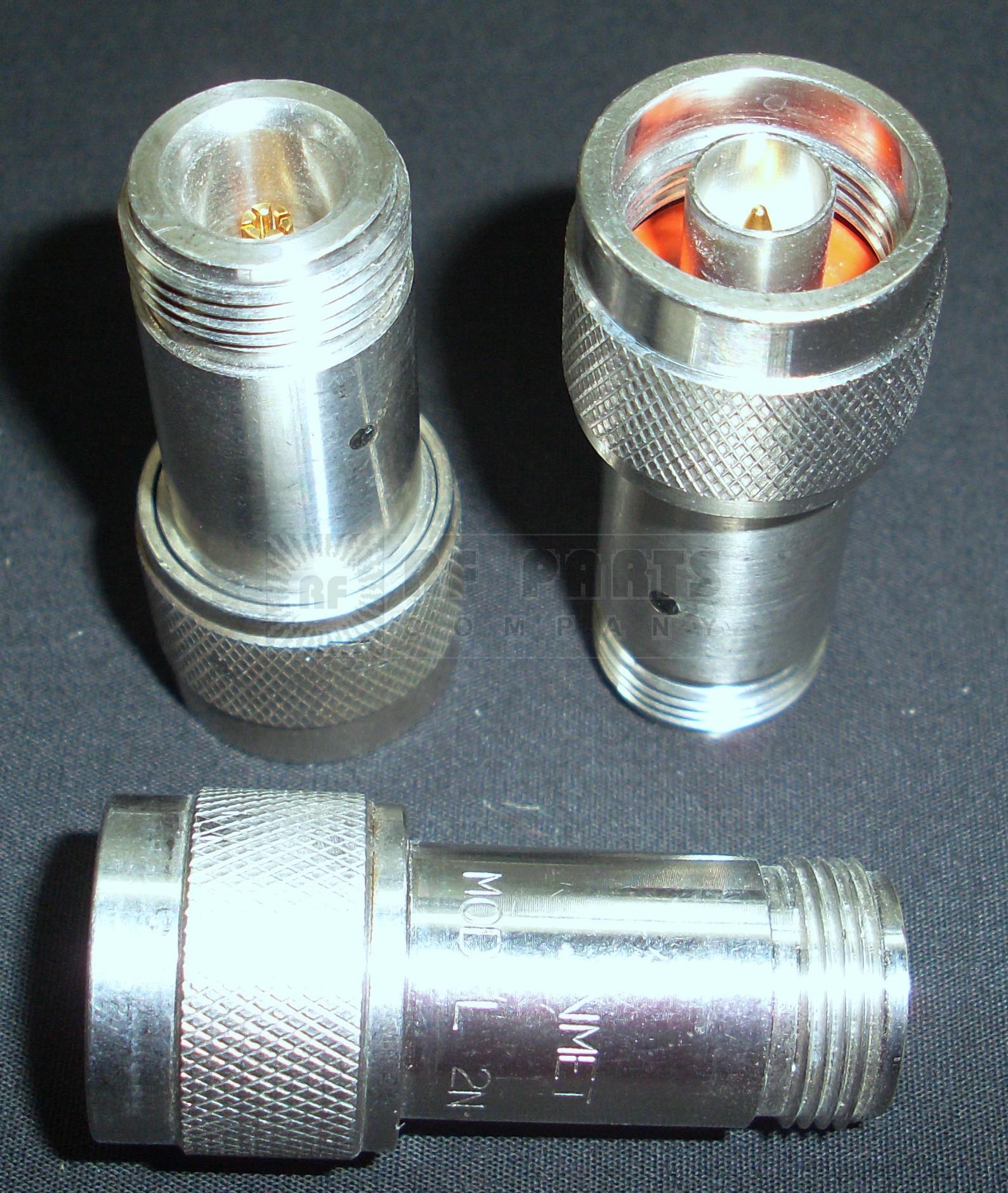 2N-3 Attenuator, Type-N Male/Female, 2 Watt, 3dB, Inmet (Clean Used)
