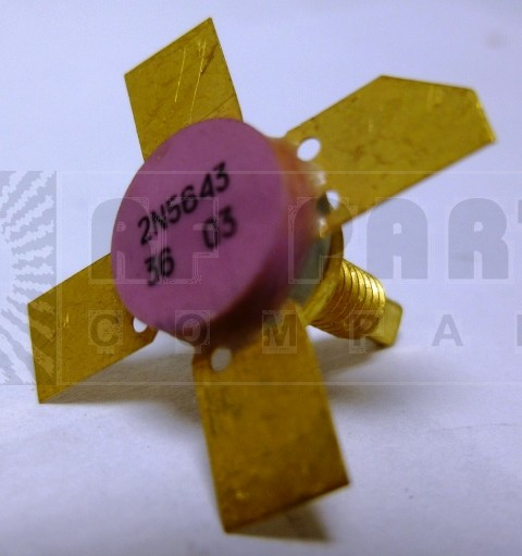 2N5643-MEV  Transistor, MEV