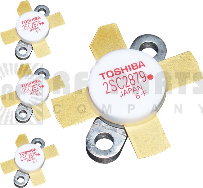 "2SC2879AMQ - Matched Set of 4 ""Red Dot"" RoHS compliant Toshiba Transistors"