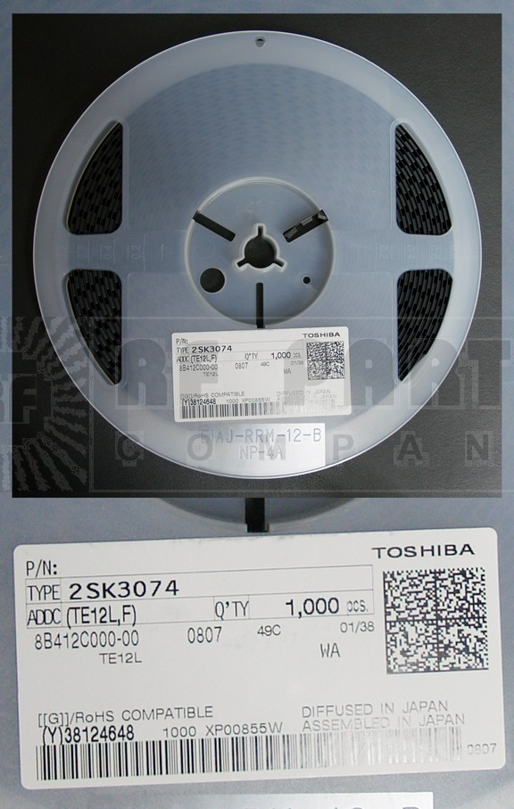 2SK3074 Transistor, mosfet Toshiba