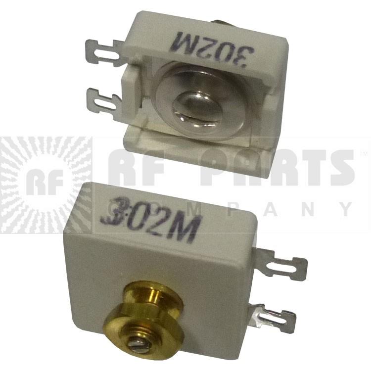 302M  Trimmer Capacitor, compression mica, 15-120PF
