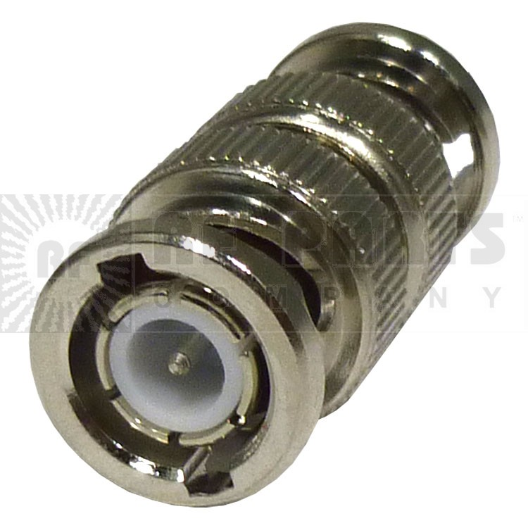 31-218 BNC In-Series Adapter, Male to Male, Straight (Industrial Grade), UG491A/U, APL/RF