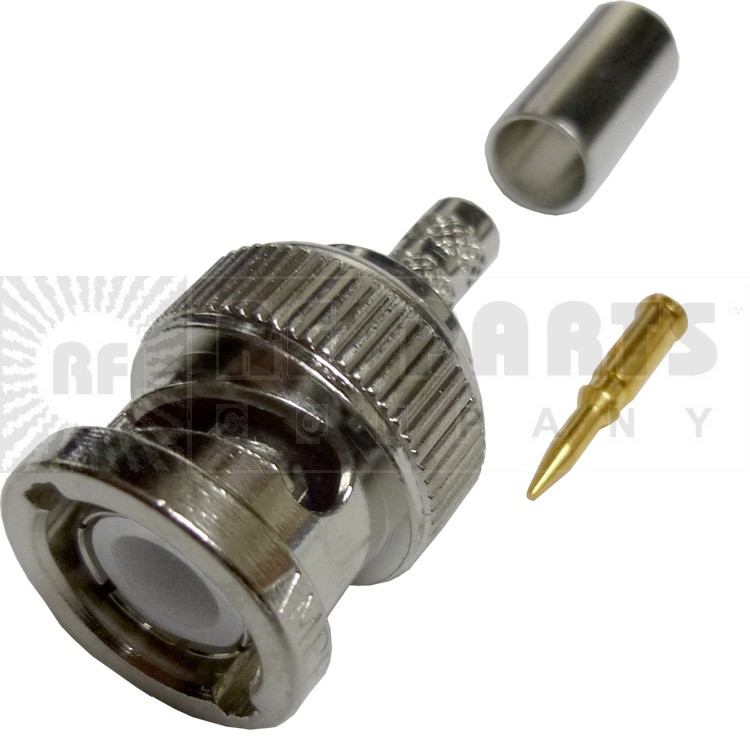 31-320-RFX - BNC Male Crimp Connector, Amphenol/RF