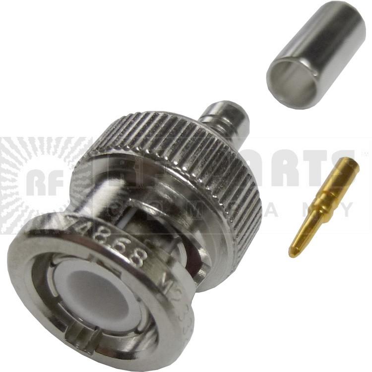 31-326 - BNC Male Crimp Connector, Amphenol/RF