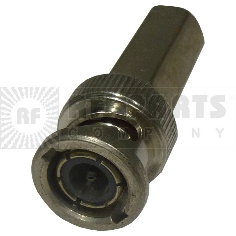 31-5138  BNC Male SureTwist Connector, 75 ohm, Straight, Amphenol