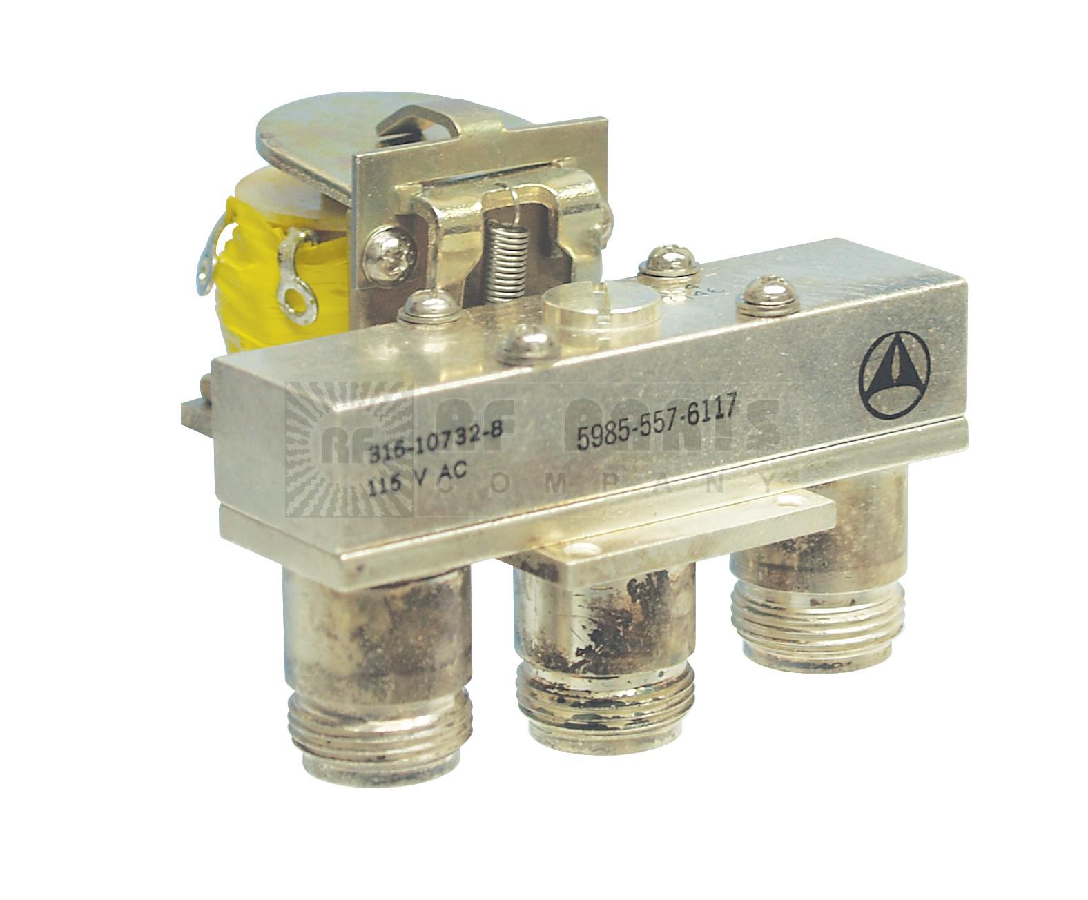 316-10732-8 Coaxial relay, spdt 3 type-n(f)