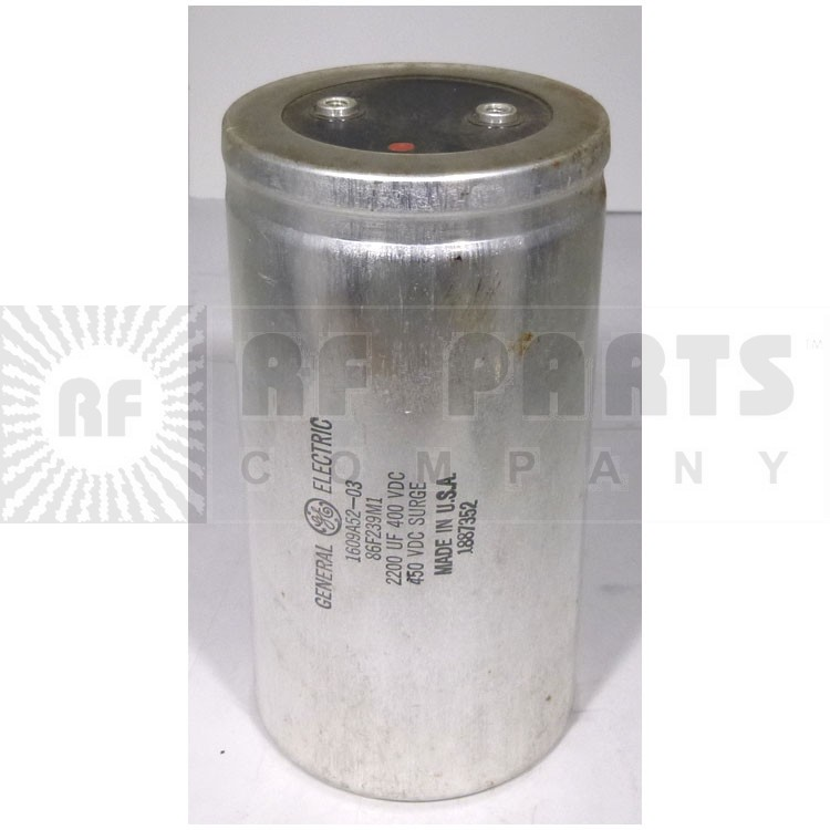 3186GH222T Capacitor 2200 uf 400v can, Mepco