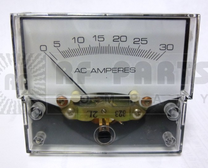 32889 Panel meter, 0-30 amperes