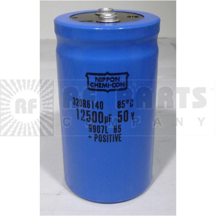 32DR6140 Capacitor, 12500uf 50v Mfg: chemicon