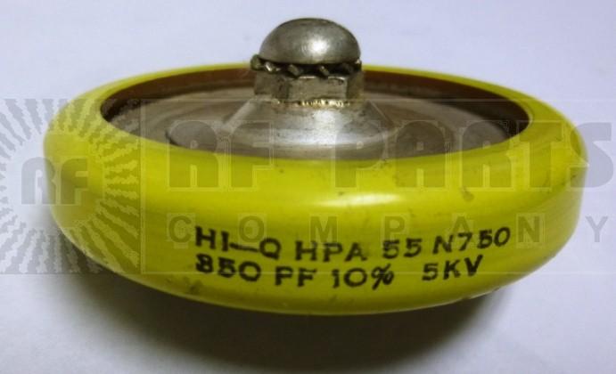 350-5  Doorknob Capacitor, 350pf 5kv, HI-Q