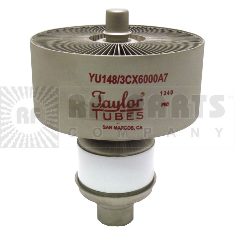 3CX6000A7-TA  Transmitting Tube,  3CX6000A7 / YU148, Taylor