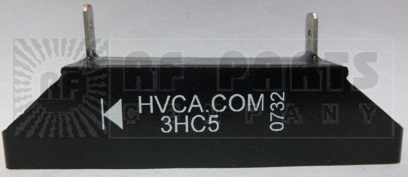 3HC5 HIGH VOLTAGE RECTIFIER BLOCK WITH MOUNTING SLOTS, 2.5 amp, 5kv-piv
