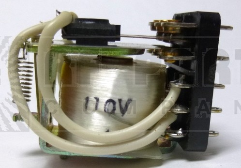 3PDT10A110V Relay, Open Frame, 3PDT, 10 amp, 110 vdc coil