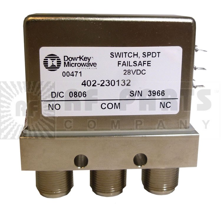 402-230132 Coax Relay, Dow Key