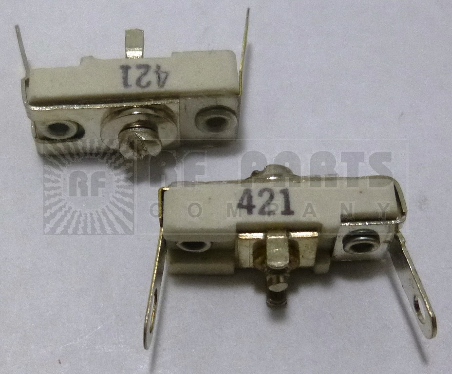 421 Trimmer Capacitor, compression mica, 2-25 pf
