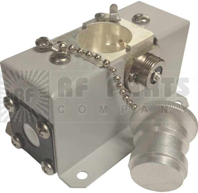 """4230-059 7/8""""  Line Section, Single Element Socket, Mounting Bracket and dummy plug, NEW, Bird Electronics"""